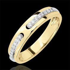 Anello Promesse di diamanti - oro giallo - versione grande  http://it.edenly.com/anelli-sottili/anello-promesse-diamanti-oro-giallo-versione-grande-9k,2686,7.html