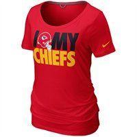 Nike Kansas City Chiefs Ladies Team Dedication Tri-blend Premium T-Shirt -  Red e1f5ada6d