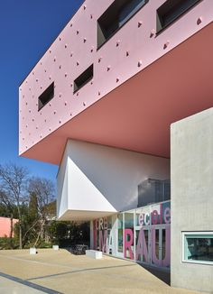 'André Malraux' Schools in Montpellier, France / Dominique Coulon & associés