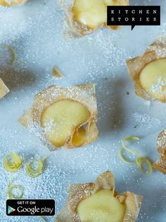 Lemon Curd Pastry Cups
