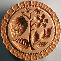 Hand-carved COOKIE STAMPS [3 sizes] for shaping edible-art pictutre cookies