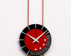 modern geometrical wall clock