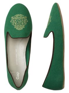 Embroidered Loafers - How much am I loving Gap right now?!