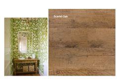 Visitors Toliet. Wallpaper and Belgotex flooring