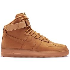 Nike Air Force 1 High 07 LV8 ($200) ❤ liked on Polyvore featuring men's fashion, men's shoes, shoes, men, athletic shoes and shoeclub