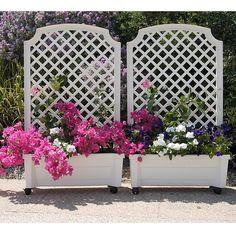 Privacy Trellis, Garden Trellis, Privacy Planter, Porch Trellis, Flower Trellis, Wall Trellis, Patio Gazebo, Backyard Fences, Planter Box With Trellis