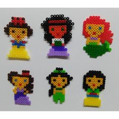 Disney Princess hama beads by laiaadler