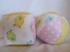 fabric jingle ball