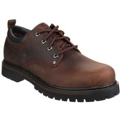 Tom Cats Lace Up Dark Brown