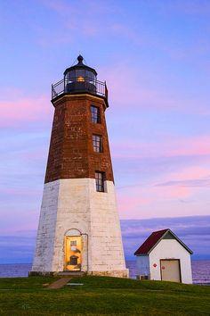 Port Judith lighthouse, Rhode Island   Karol Livote, Fine Art America