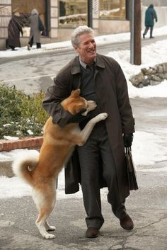 """Hachiko"" A really beautiful story about a faithful dog. I cried and hugged my dog the all movie."