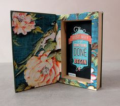 """Hollow book safe """"Best Way"""" by BookBoxStore on Etsy"""
