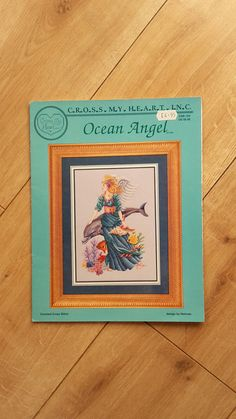 Cross My Heart Inc Ocean Angel Counted Cross by BeesKneesCraft