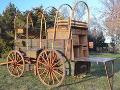 Dakota Cowboy Chuck Wagon SHOP IN-STOCK WAGONS | Hansen Wheel and Wagon