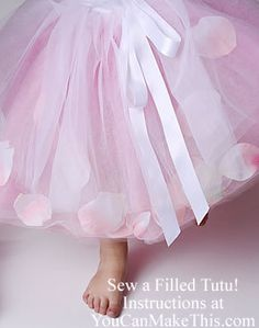 "Fancy Filled Sewn Tutu! BONUS! 40 Tutu ""Recipes,"" Too!"