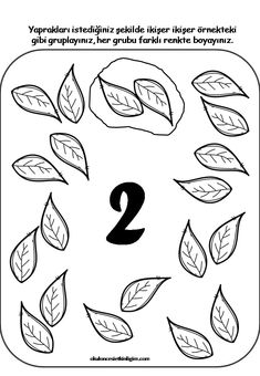Numbers Preschool, Preschool Worksheets, Preschool Kindergarten, Toddler Learning Activities, Preschool Activities, Seasons Activities, Petite Section, Math For Kids, Math Centers