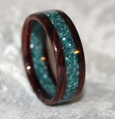 Beautiful Corian Wedding Ring