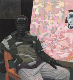 Las preciosas pinturas deKerry James Marshall.             — Kerry James Marshall