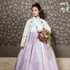#꽃 #flower #한복 #전통의상 #예쁜한복 사진  한복과 꽃의 아름다운조화!