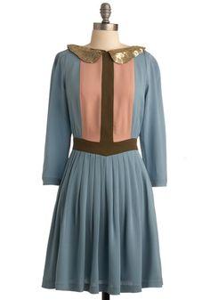 Lauren Moffatt Daydream a Little Dream Dress | Mod Retro Vintage Printed Dresses | ModCloth.com - StyleSays