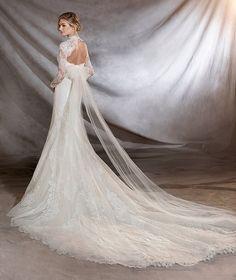 ORILLA - Strapless mermaid wedding dress