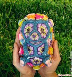"""ЕжеЦВетик - игрушка на основе мотива """"Африканский цветок"""""""