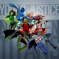 Young Justice by arunion