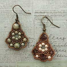 Belle of the Ball Earrings Samples