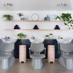 Salon Shampoo Area, Salon interiors, Salon Design, salon Layout, hair salon sinks , salon designers, salon decor