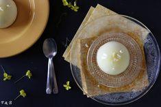 Domes au citron Candle Holders, Candles, Bergamot Orange, Raspberries, Lemon, Cooking Food, Recipes, Candy, Candelabra