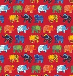 Great quality and brand new. Elephant, Fabrics, Train, Knitting, Awesome, Fun, Kids, Tejidos, Young Children