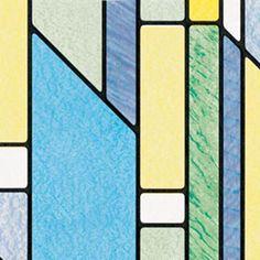 Busko Pattern Window Film - Peel And Stick Privacy