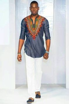 African fashion for men has come a long way. Today, we have a wide selection of amazing African clothing for men that are available in different designs, colors, styles, and fabrics. Most of the African fashions are. African Attire, African Wear, African Dress, African Style, African Women, African Outfits, African Print Fashion, Africa Fashion, Ankara Fashion