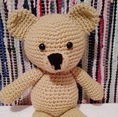 Stuffed Animals – Crochet Bear Toy – a unique product by MadamLove on DaWanda