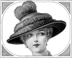 vintage hats | Edwardian Fashion – Ladies Hats
