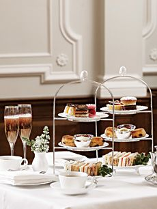 Looks lovely - where is it?  Afternoon Tea at Bettys Cafe & Tearooms  I want to go here so much.