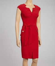 Cambridge Scarlet Dress