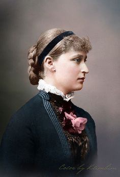 Grand Duchess Elisabeth Feodorovna of Russia, colorized