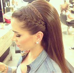 Best hairstyle for indian brides braided hairstyles for wedding,updos hairstyles with tiara funky hairstyles head wraps,wedding hairstyles curly short hairstyles. Up Hairstyles, Pretty Hairstyles, Braided Hairstyles, Wedding Hairstyles, Hairstyle Braid, Braid Bangs, Men's Hairstyle, Braid Hair, Headband Hairstyles