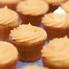 Fresh and zesty orange cream cupcakes!