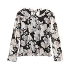 Stitch Fix Spring Stylist Picks: floral tie detail blouse