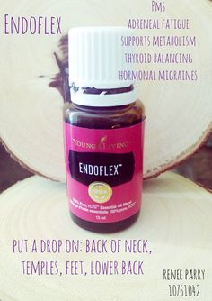 Interested in trying this one: Endoflex Essential Oil