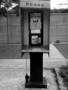 Pay phone, typical