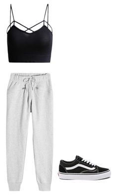 """Untitled #34"" by alessiacaravetta on Polyvore featuring adidas and Vans"