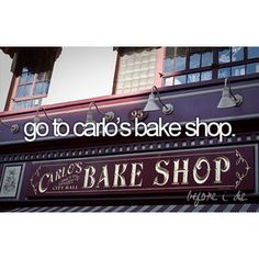 cake boss(: We met his 12/11/2012 but I would luv to visit the bakery someday....