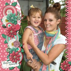 """Layout made with """"Color Me Pretty"""" by @Robin Sampson Digi Scrap Delights. Kit is available here: http://etsy.me/15l5k6R"""