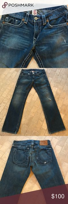 True Religion jeans Size 34 Bobby Big T True Religion Jeans Straight