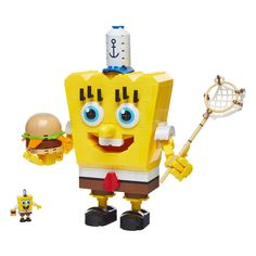 Mega Bloks SpongeBob BlockPants Building Set