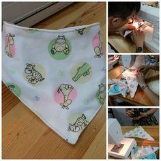 (9) Name: 'Sewing : Easy Peasy Bandana Bib