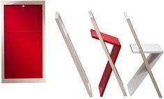 Urban Kinetics: December 2006  Minimalist Folding Chair
